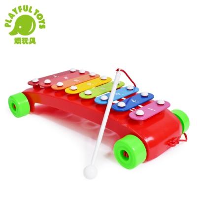 Playful Toys 頑玩具 拖拉車敲琴