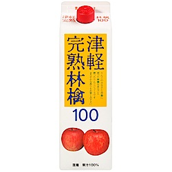 nora  津輕完熟青森蘋果汁[盒裝] (1L)