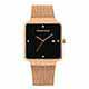Valentino Coupeau 范倫鐵諾 古柏 輕巧極簡設計腕錶【玫瑰/米蘭/黑珠】 product thumbnail 1