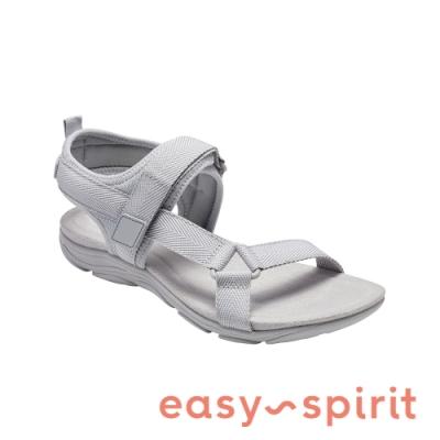 Easy Spirit-seLOCKE 舒適休閒涼鞋-灰色