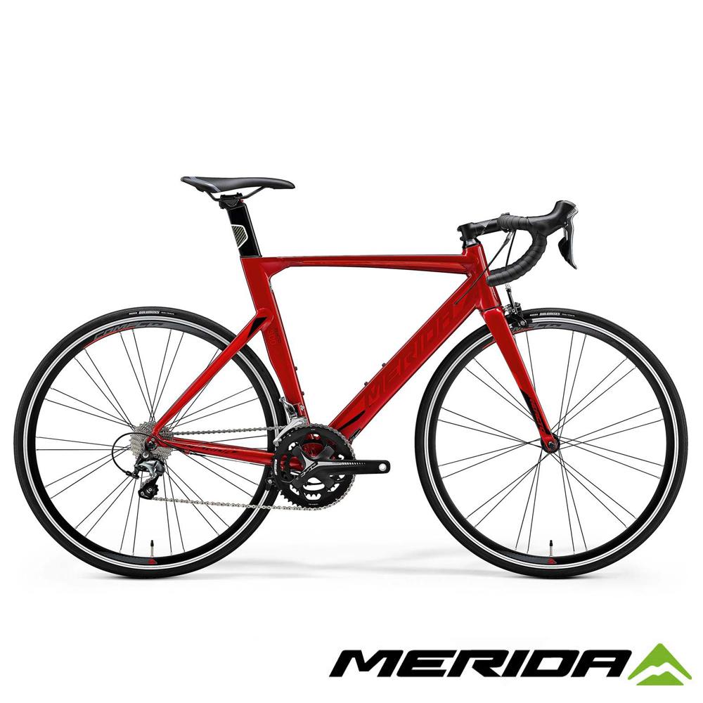 《MERIDA》美利達低風阻跑車 Reacto 銳克多 300 紅 2018