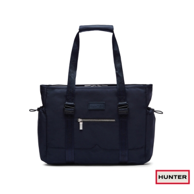 HUNTER - Refined聚脂托特包-海軍藍