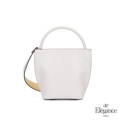 【Elegance】MONA 手提兩用包-白色