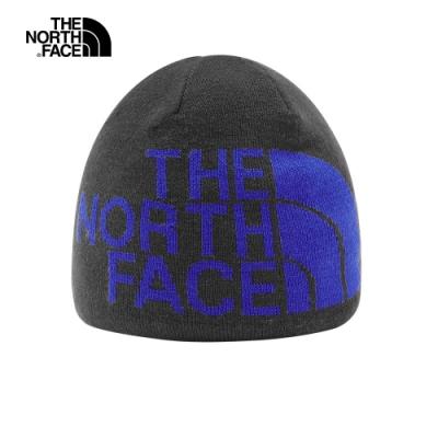 The North Face北面男女款藍色毛帽|AKNDHY1