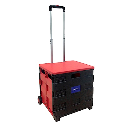 第二代可坐式折疊購物收納車 (UL-288R)