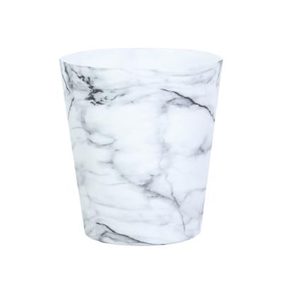 完美主義 日系水轉印紋路儲物桶/垃圾桶/置物桶-5L(3色)