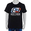 SKECHERS 男童短袖衣 - L120B094-0018