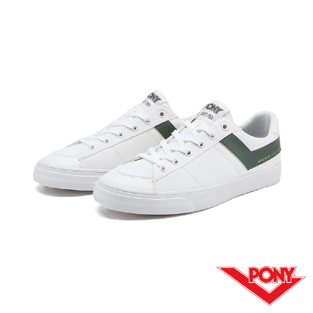 【PONY】PRO 80系列-經典復古休閒鞋-男-綠
