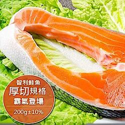 智利產地急凍直送鮭魚