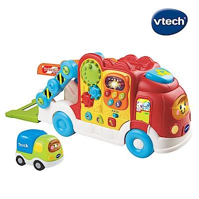 【Vtech】嘟嘟車系列-聲光互動運輸車