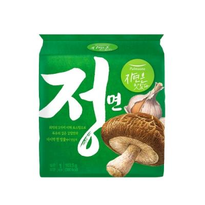 韓味不二【正】圃美多 Pulmuone 蔬菜湯麵(102.8g*4包/袋) 偶然成為社長 同款拉麵