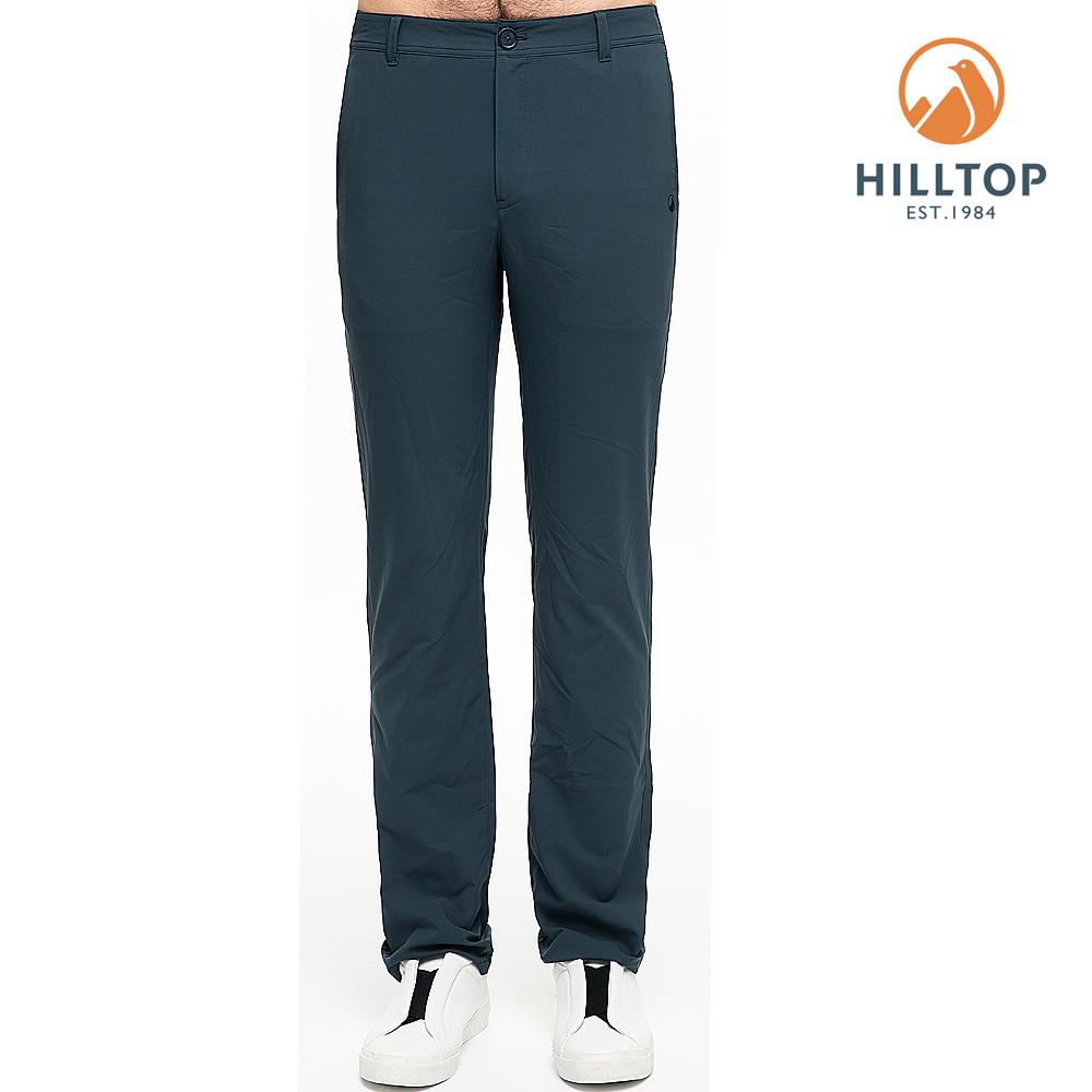 【hilltop山頂鳥】男款超潑水抗UV長褲S07MB8印墨