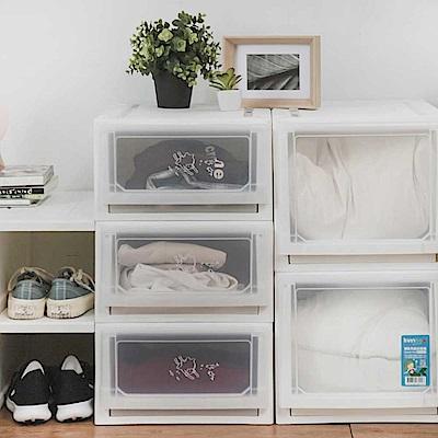 完美主義 可堆疊收納箱/塑膠櫃/收納櫃 3入組