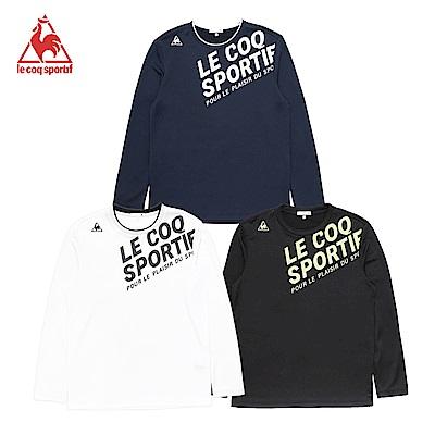 【時時樂限定】法國公雞牌運動長袖T恤 男-3色