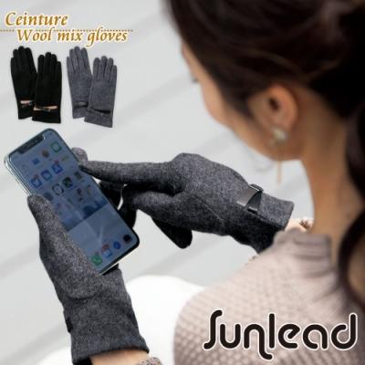 Sunlead 羊毛混紡。日系優雅保暖防風螢幕觸控手套