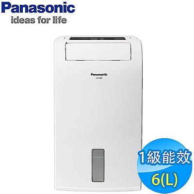 Panasonic國際牌 6L 1級LED面板定時清淨除濕機 F-Y12EB