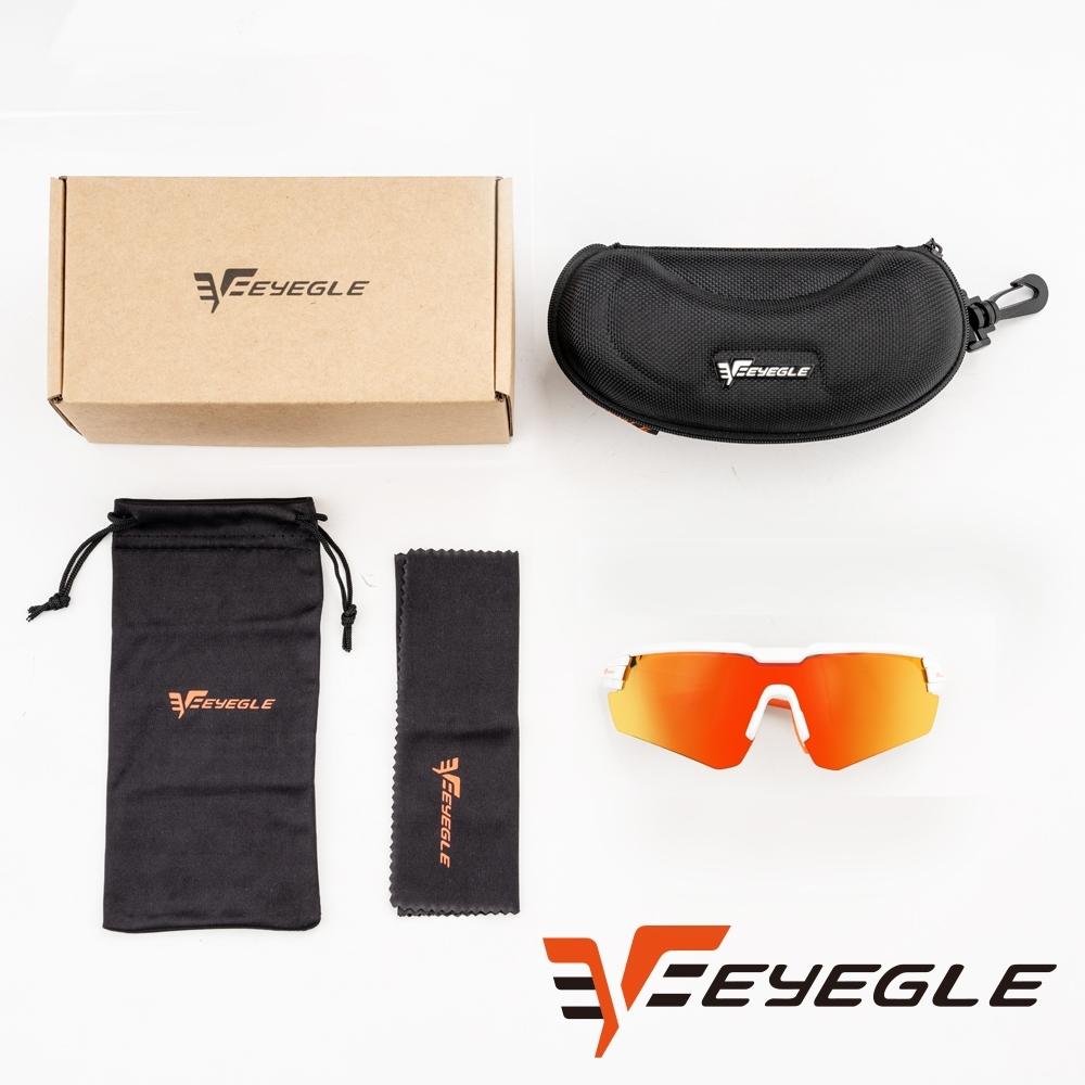 EYEGLE Victor系列 運動太陽眼鏡 - 橘 無備片