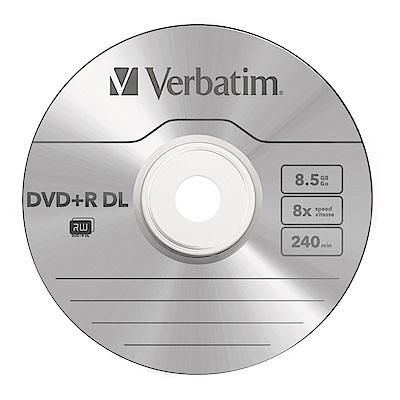 Verbatim威寶 8X DVD+R DL 8.5G 單面雙層 10片