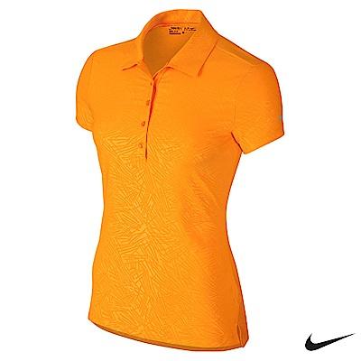 Nike Golf 女運動機能POLO衫 橘 725631-868