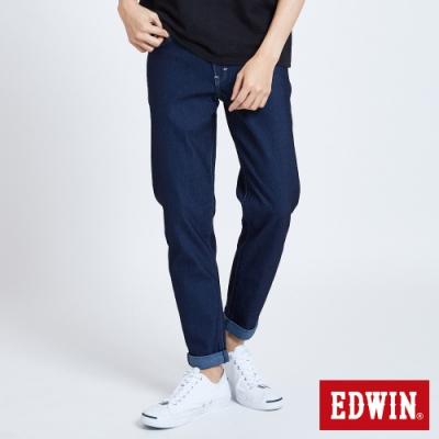 EDWIN JERSEYS 迦績 大尺碼 MED系列 不對稱AB牛仔褲-男-原藍磨