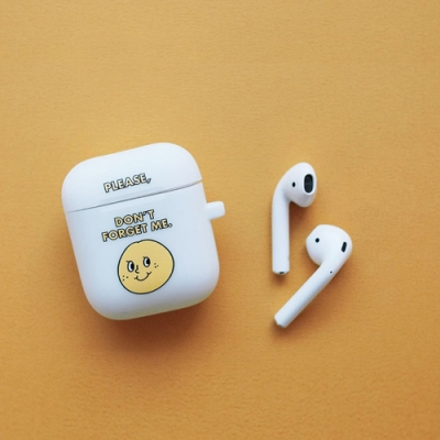 oh lolly day Airpods 矽膠保護套V1-白色