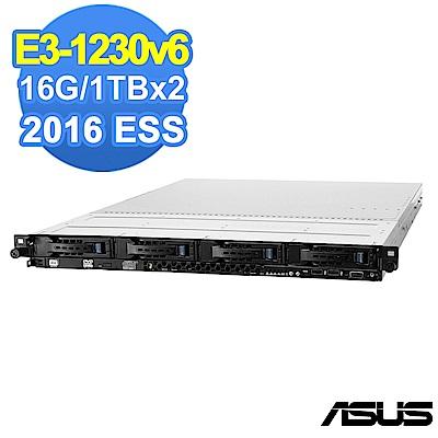 ASUS RS300-E9 E3-1230v6/16G/1TBx2/2016ESS