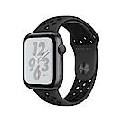 [無卡分期-12期]Apple Watch S4 Nike+44mm網路版灰鋁錶殼配黑錶帶
