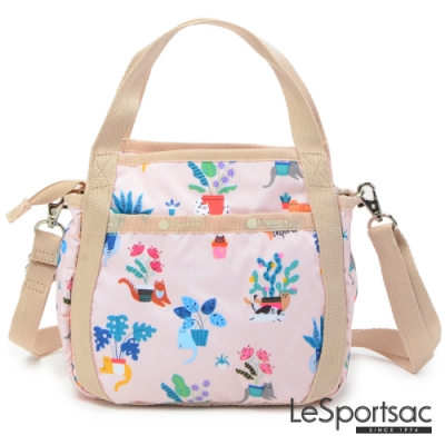 LeSportsac - Standard 隨身小巧手提/兩用包 (悠閒小貓)