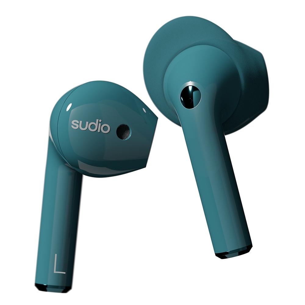 SUDIO NIO真無線藍牙耳機- Aurora極光綠色