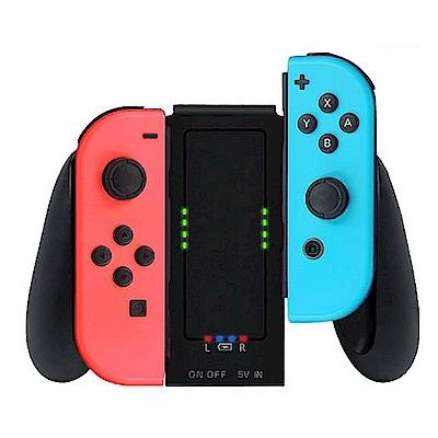 Nintendo任天堂Switch專用 Joy-Con左右手把可充電式握把