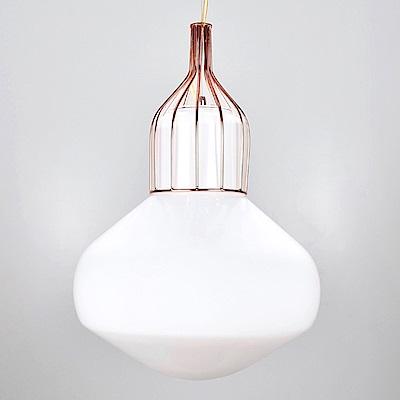 bnatural 白玉紅銅吊燈 BNL00116