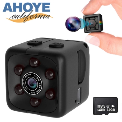 Ahoye 1080P高清插卡式針孔攝影機