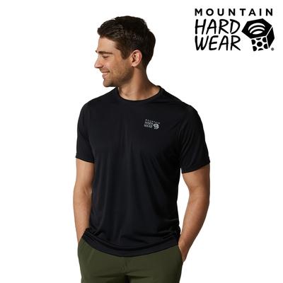 【美國 Mountain Hardwear】Wicked Tech Short Sleeve T 防曬快乾短袖排汗衣 男款 黑色 #1934291