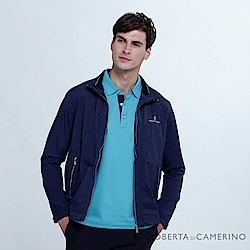 ROBERTA諾貝達  運動休閒 輕薄百搭 夾克外套 深藍