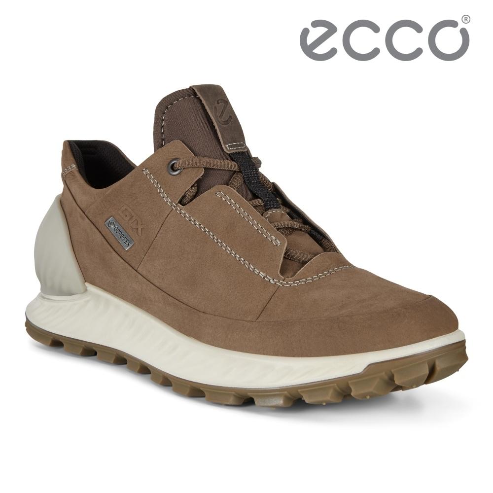 ECCO EXOSTRIKE M 突破極限低筒運動戶外靴 男鞋 棕色