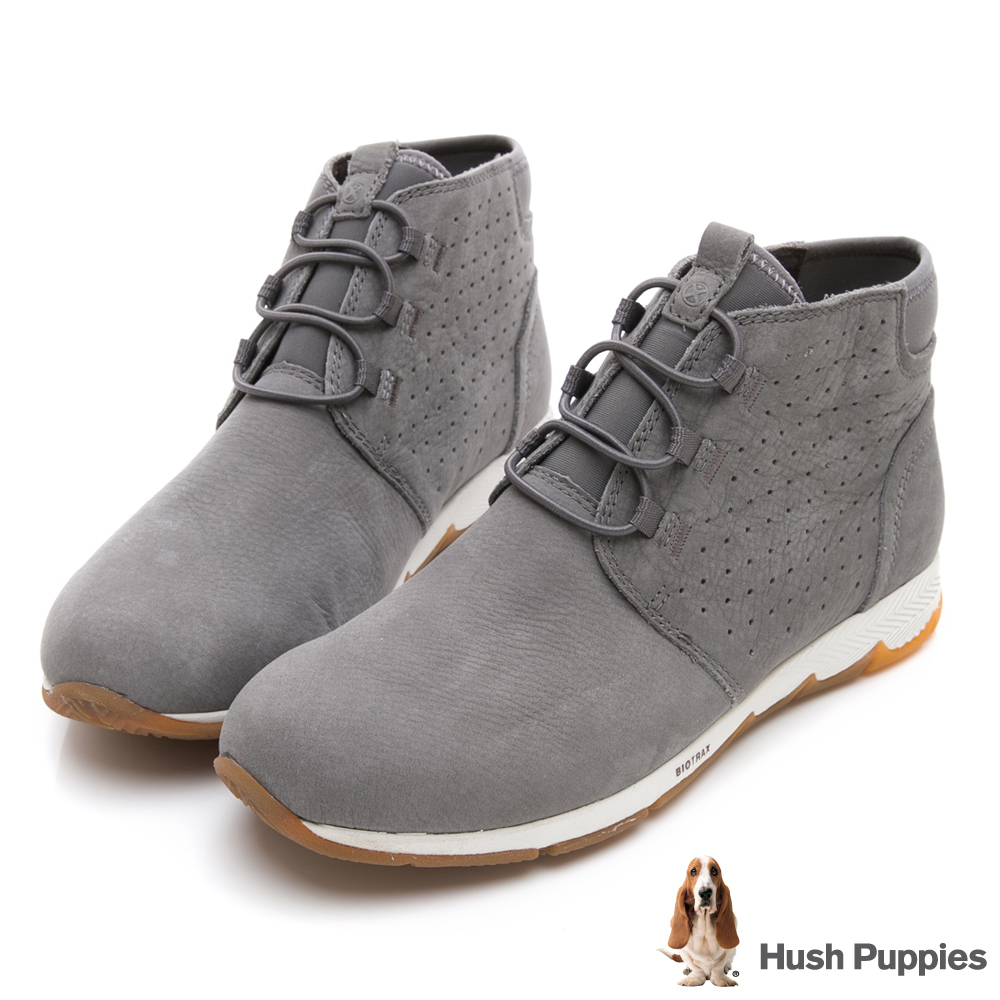 Hush Puppies CESKY 機能健走短靴-灰