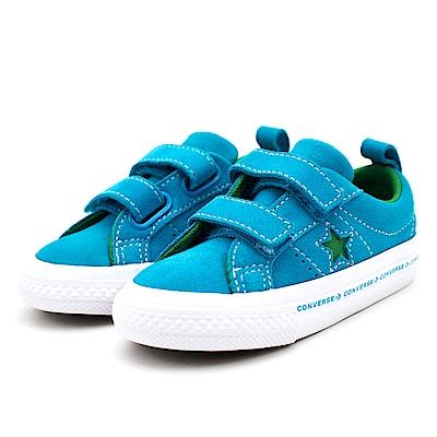 Converse 嬰幼休閒鞋-760037C 藍