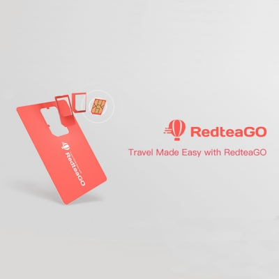 RedteaGO 亞洲20國8天吃到飽上網卡