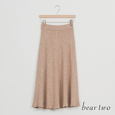beartwo 優雅古典氣質垂墜長裙(二色)