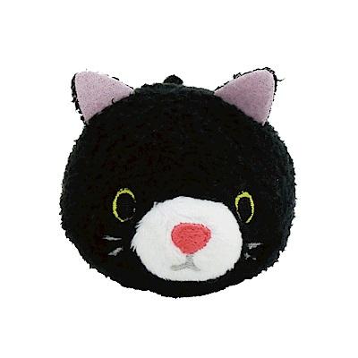 動物樂園公仔螢幕擦護 腕墊。小黑貓 UNIQUE