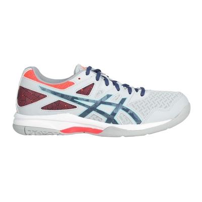 MIZUNO ASICS GEL-TASK 2 男排羽球鞋-排球 羽球 運動 亞瑟士 1071A037-960 灰藍橘