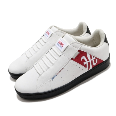 Royal Elastics 休閒鞋 Genesis 套腳 穿搭 男鞋 基本款 輕便 舒適 簡約 質感 白 紅 01902019