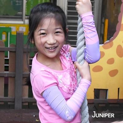 【MIT台灣製造】JUNIPER 抗UV涼感防曬止滑袖套(親子-兒童款) TJP005
