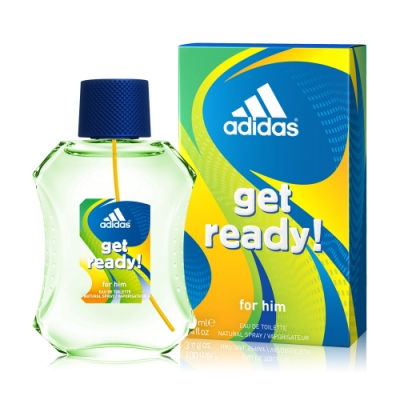 Adidas 愛迪達 預備森巴男性淡香水100ml