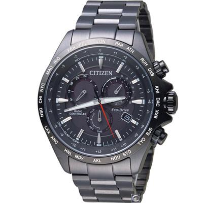 CITIZEN  星辰 極速時刻 電波錶(CB5835-83E )45mm