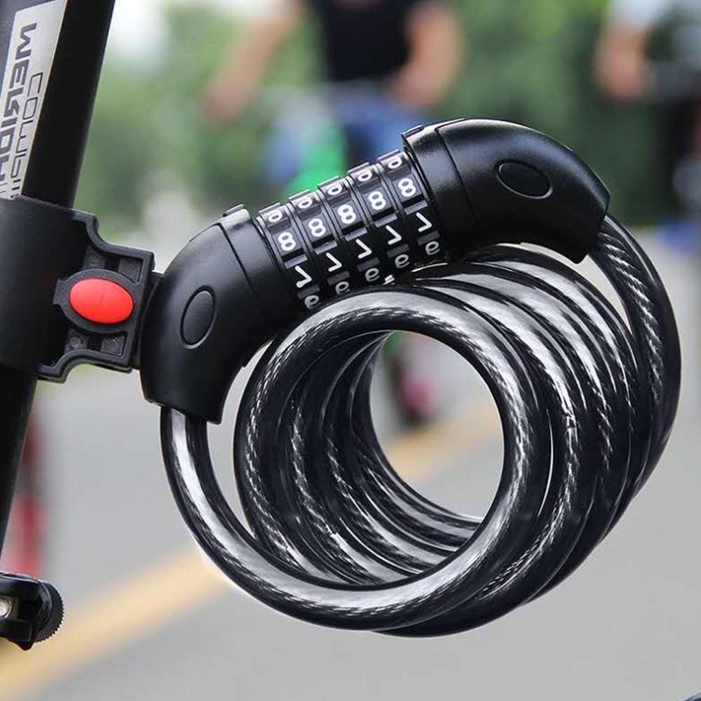 【Cap】腳踏車/自行車5位密碼鎖(5字密碼車鎖)