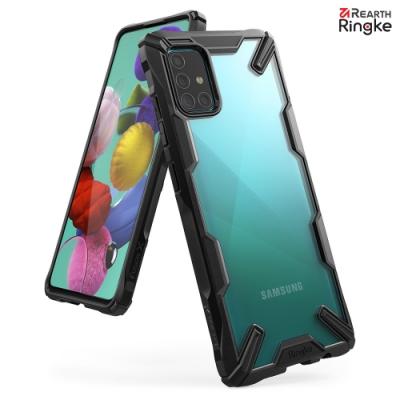 【Ringke】Rearth 三星 Galaxy A51 [Fusion X]透明背蓋防撞手機殼