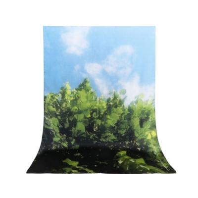 agnès b 長型絲巾
