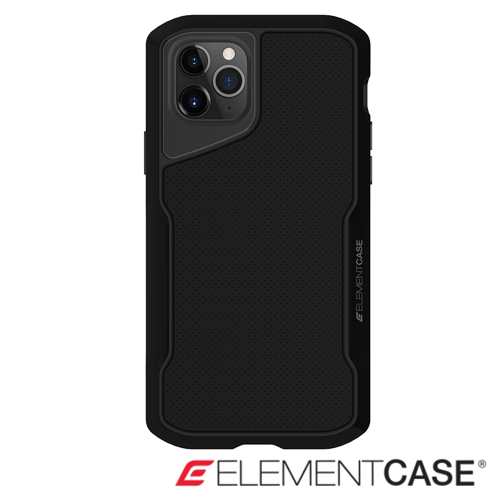 美國Element Case iPhone 11 Pro Max Shadow軍規殼-醇黑
