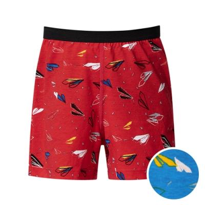 DADADO 翱翔啟飛 110-130男童內褲(藍) 品牌推薦 舒適寬鬆 四角男褲
